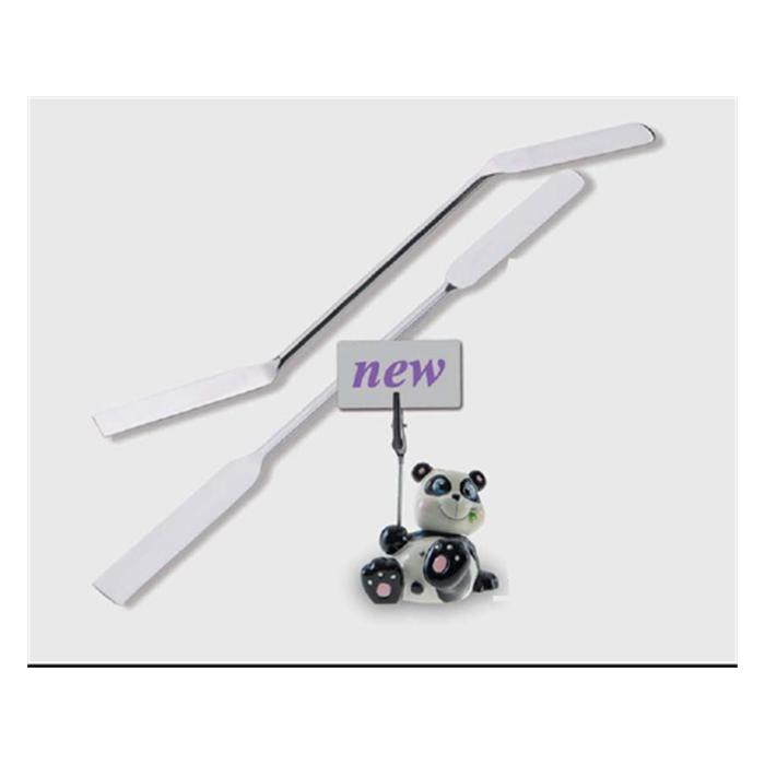 spatül-paslanmaz Çelik-düz oluklu-210 mm