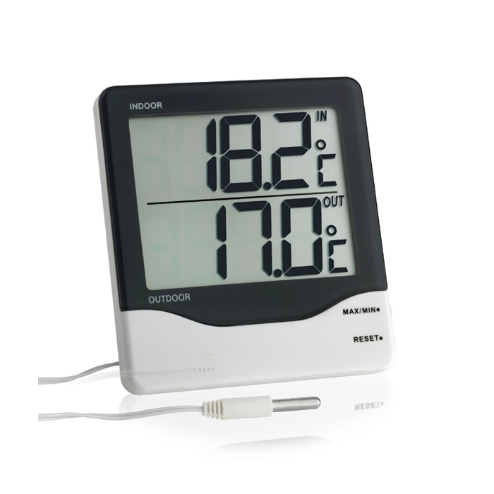 Termometre LCD ekran / MIN/MAX