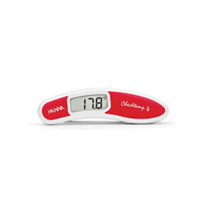 Checktemp4 çiğ et için kırmızı katlanır termometre