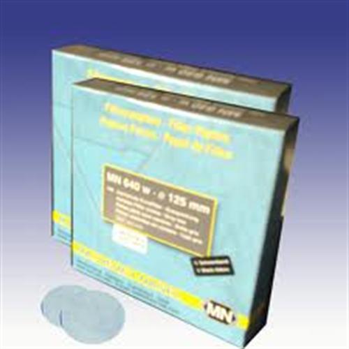 filtre kağıdı kalitatif M&Nagel 110 mm siyah bant hızlı akış hızı