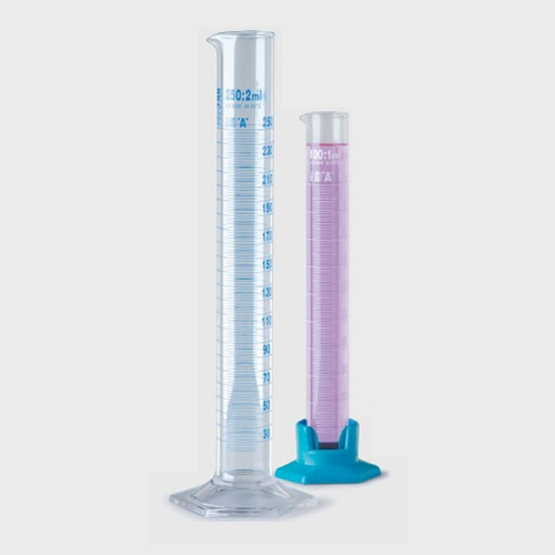 Mezür (PP) Uzun Form Mavi Dereceli 10ml